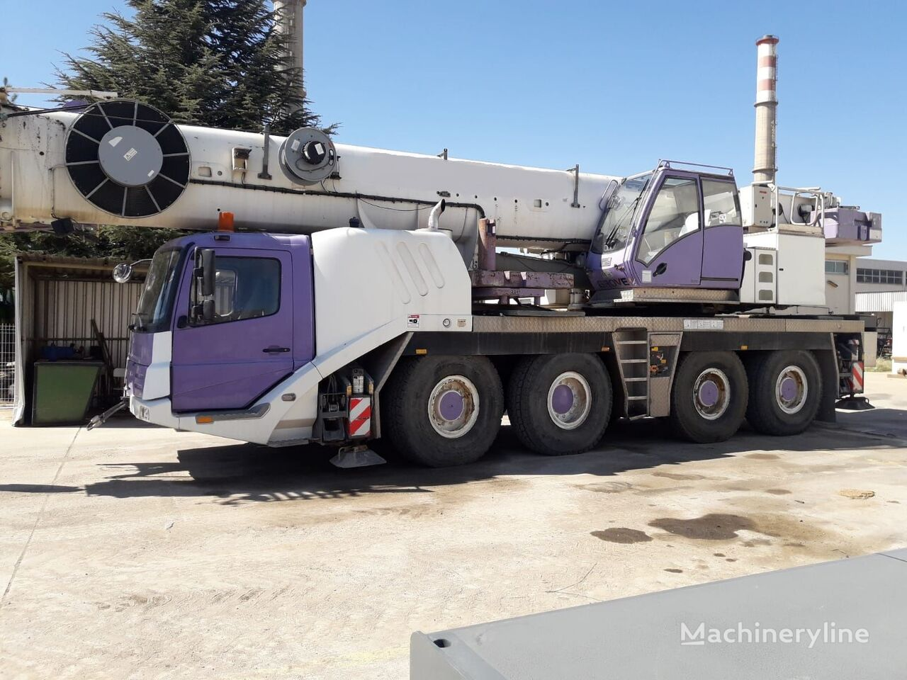 avtodvigalo GROVE GMK 4100L, 2007 , HYDRAULIC JIB, FOR SALE! FIRST OWNER
