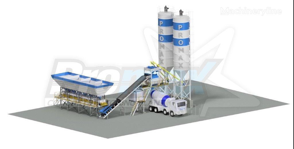 nova betonarna PROMAX Compact Concrete Batching Plant PROMAX C100-TWN L (100m³/h)