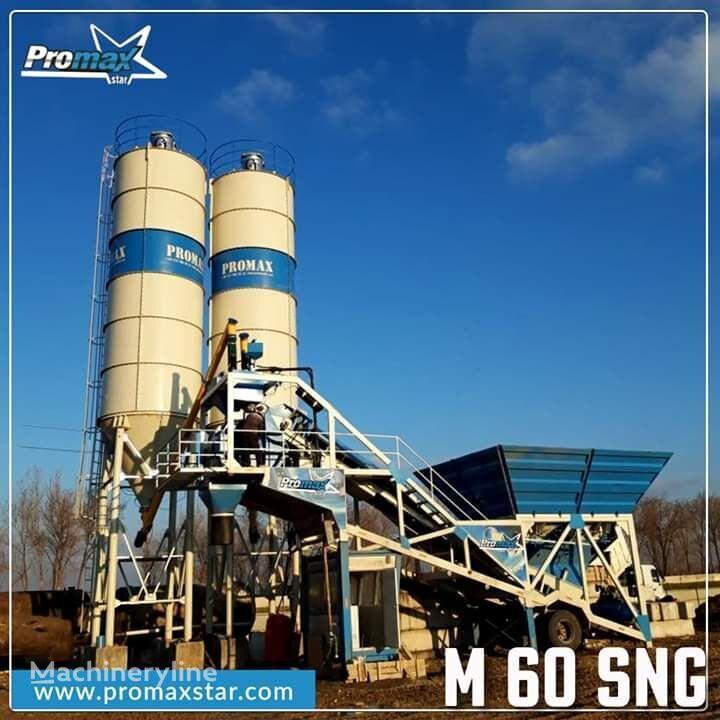 nova betonarna PROMAX Mobile Concrete Batching Plant PROMAX M60 SNG (60m³/h)