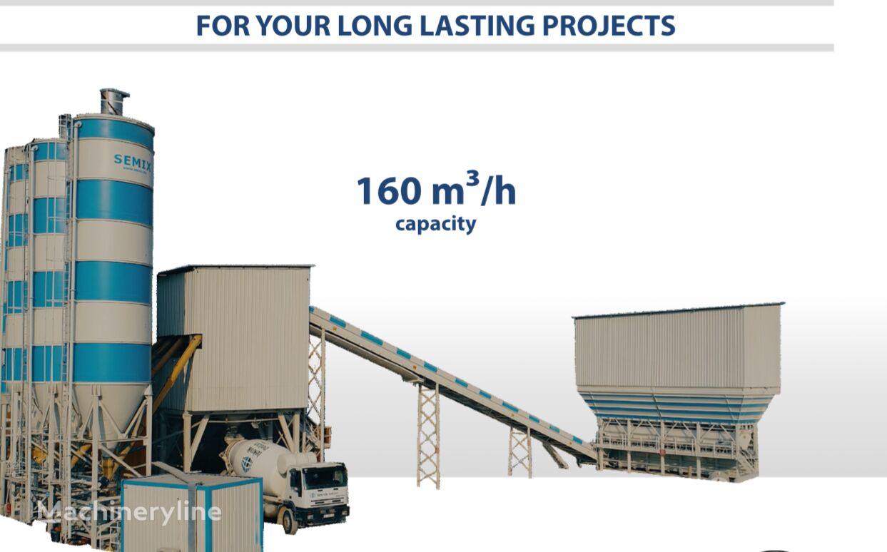nova betonarna SEMIX SEMIX Stationary Concrete Batching Plant 160 m³/h