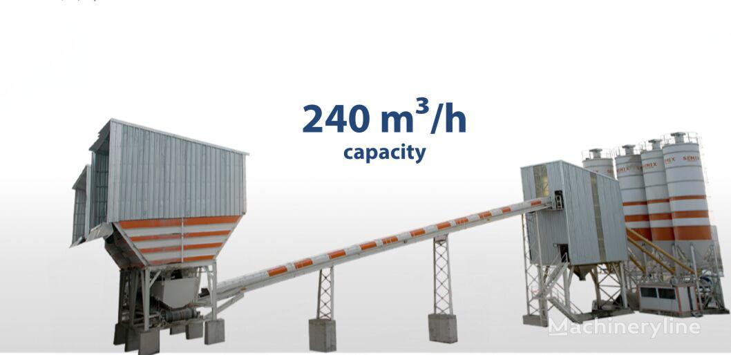 nova betonarna SEMIX Stationary