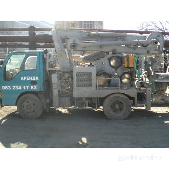 betonska črpalka ISUZU