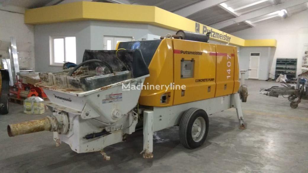 betonska črpalka PUTZMEISTER BSA 1407 D