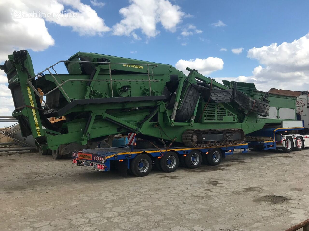 dozirna naprava McCLOSKEY S130 Powerscreen Chieftain Finlay