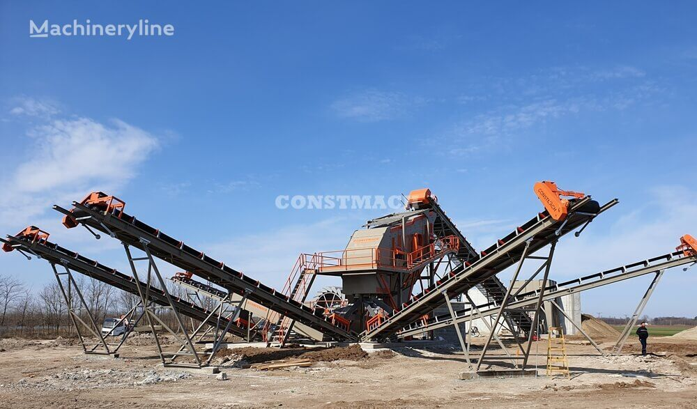 nova drobilnica CONSTMACH GRAVEL SCREENING AND WASHING PLANT,  2 YEARS WARRANTY