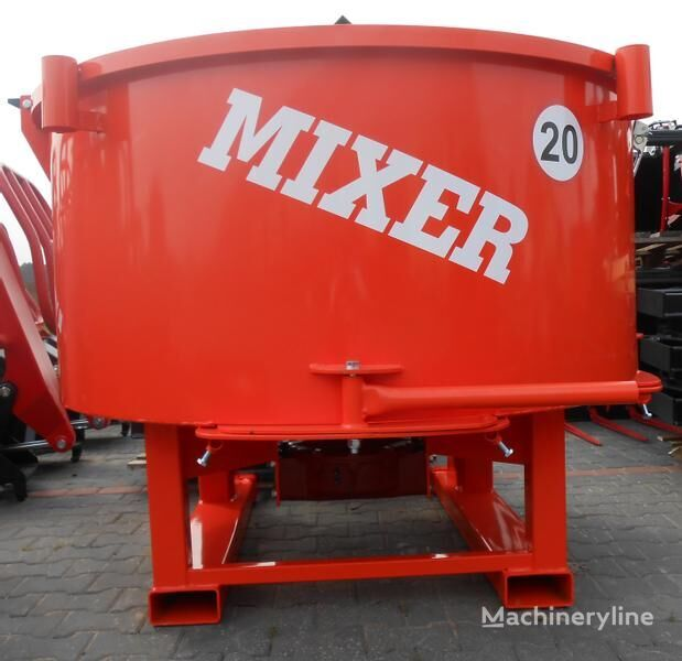nov mešalec betona Agro- Factory MIXER Traktor-Betonmischer/ Betoniarka ciągnikowa