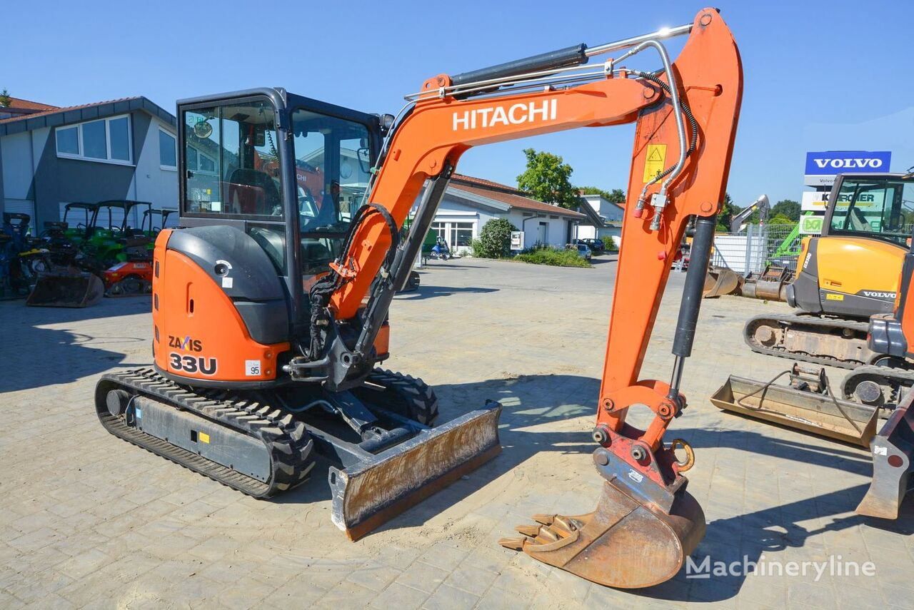 mini bager HITACHI ZX 33U-5A