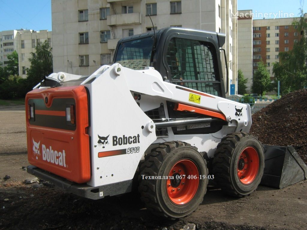 nov mini nakladač BOBCAT S510