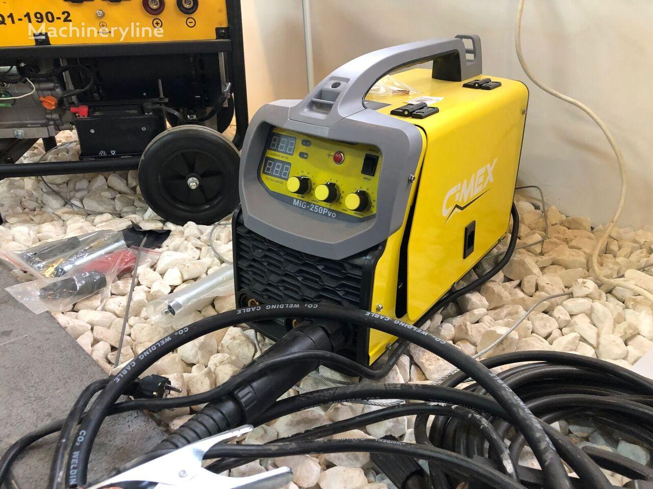 nov oprema za varjenje CIMEX ARC Welding Inverter with Mask MIG 250 Pvo
