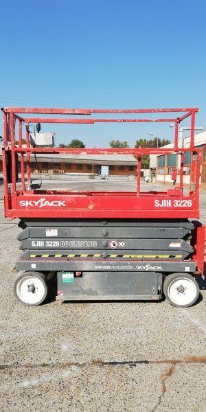 škarjasta dvižna ploščad SKYJACK SJIII-3226 - 10m, electric