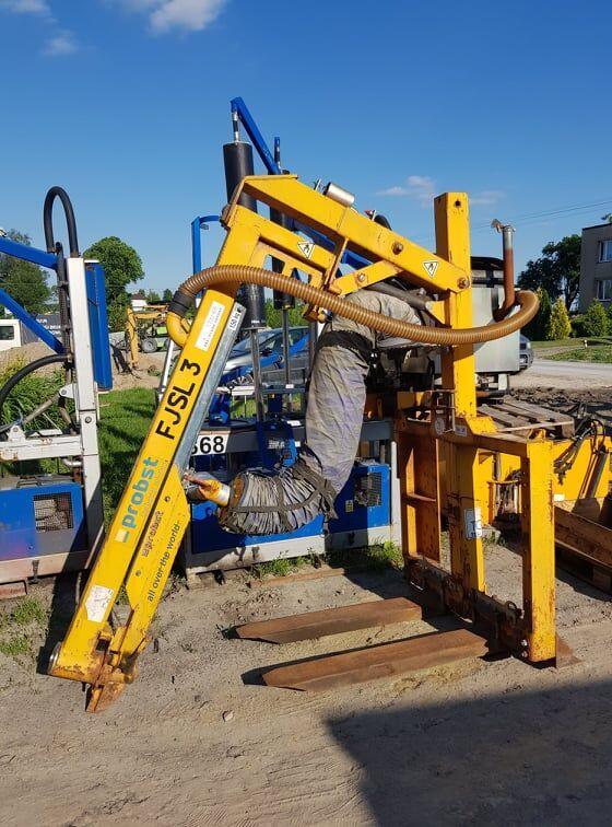 stroj za tlakovanje OPTIMAS PROBST FJSL 3, BV ukladarka do krawezników