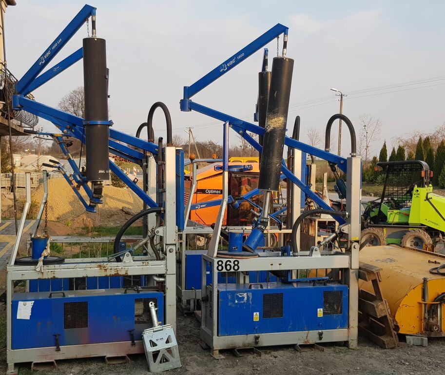 stroj za tlakovanje OPTIMAS PROBST JUMBO + AL VAC 1600 - 5 sztuk