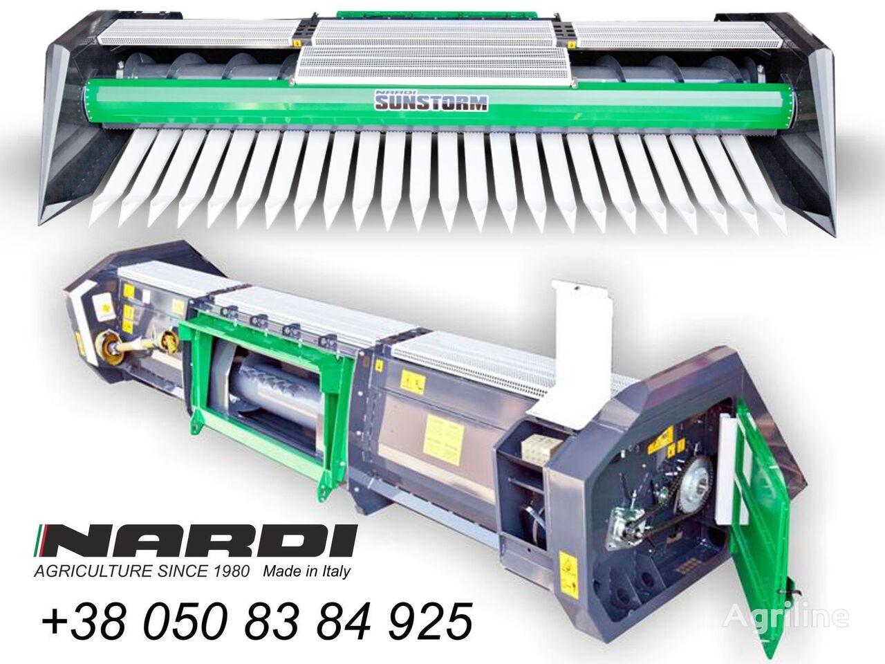 nov kosilni del za sončnice NARDI  SFH 600 6  7.4 9.4 12 metrov
