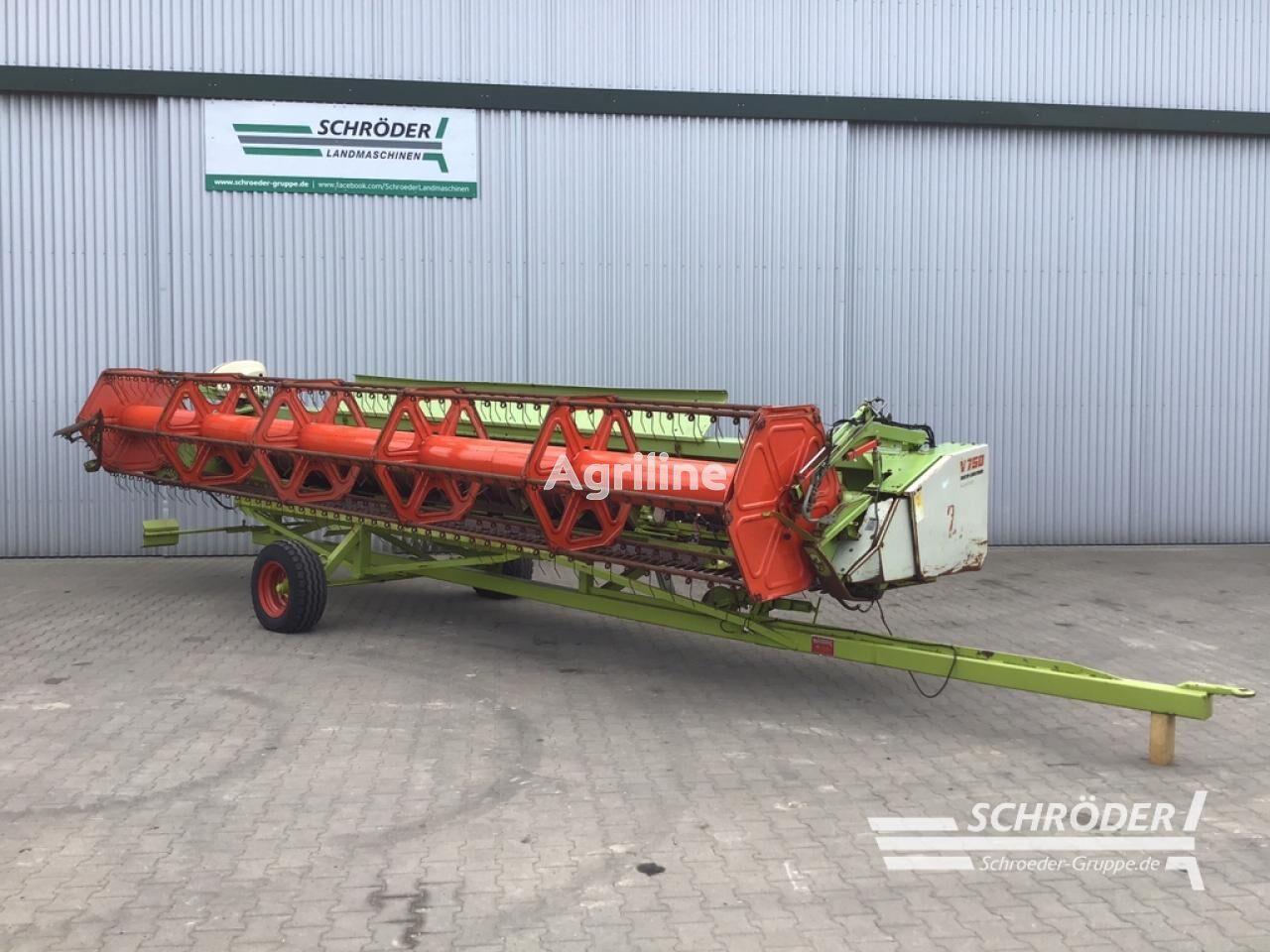 žetveni stroj CLAAS V 750