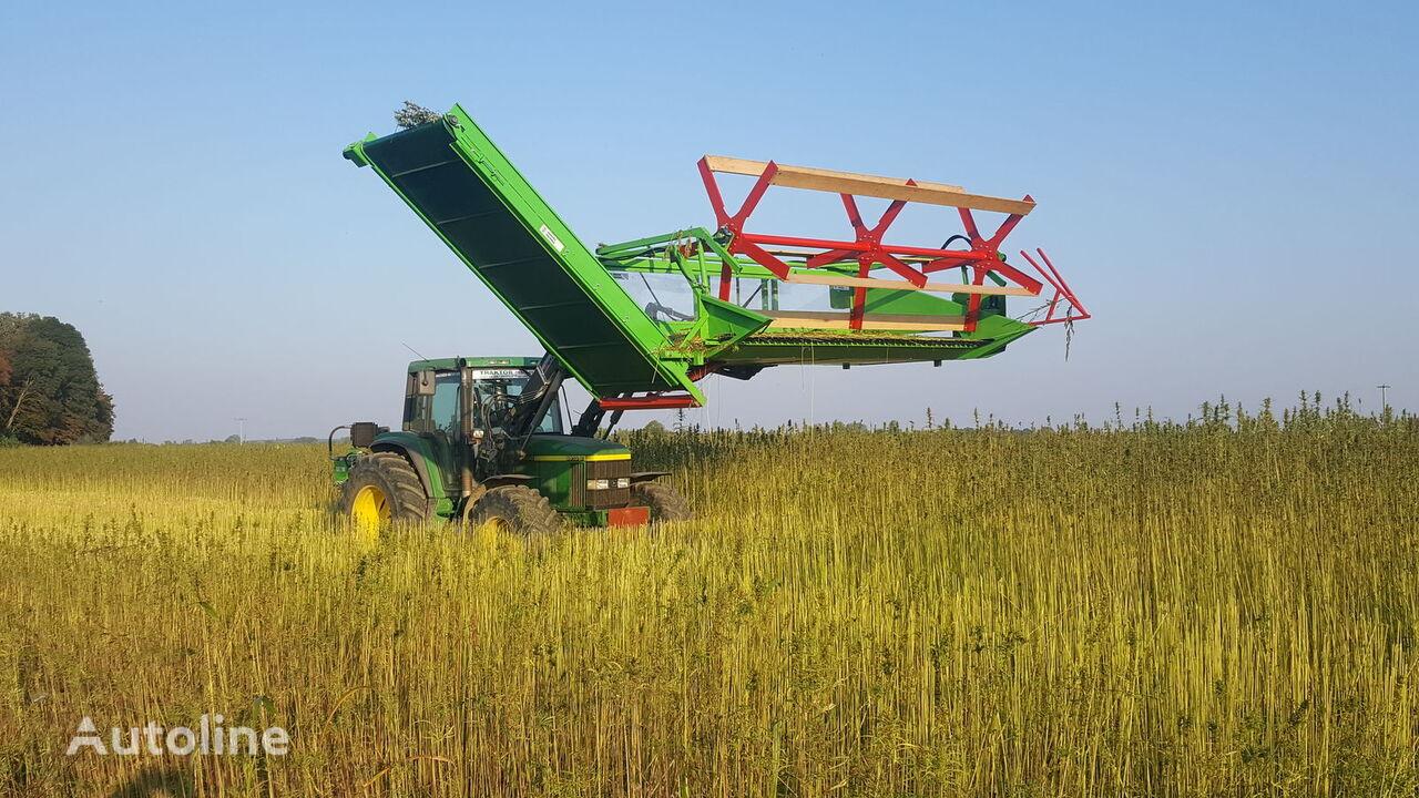 nov žetveni stroj Hemp harvesting header HHH 3,5