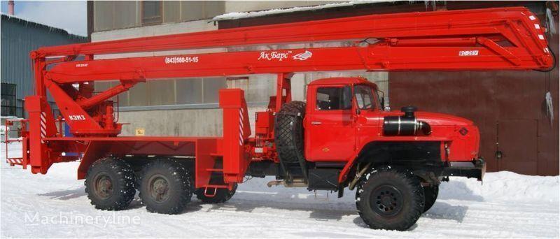 nova gasilsko avtolestev KAMAZ 43253, 43502