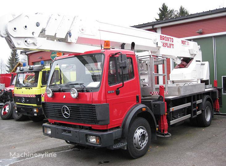 gasilsko avtolestev MERCEDES-BENZ 1722 4X2WD