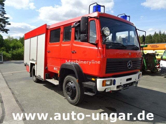 gasilsko vozilo MERCEDES-BENZ 1124 AF GFT Feuerwehr LF16 4x4 Wasser + Schaum