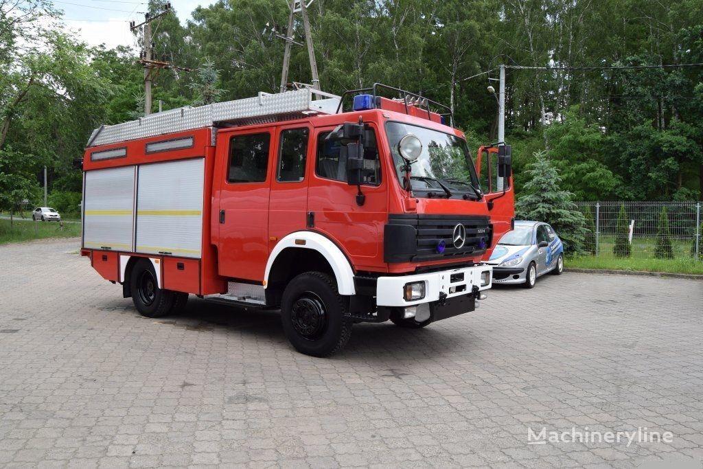 gasilsko vozilo MERCEDES-BENZ HLF 1224 mit Wassertank und Allrad 4x4