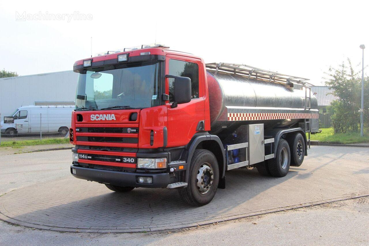 gasilsko vozilo SCANIA 114G Wassertankwagen/Water tank truck 15.500 Liter