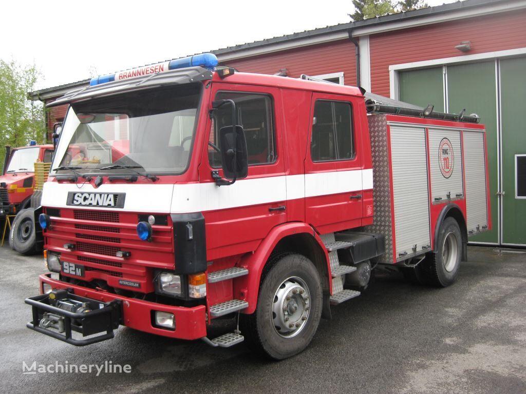 gasilsko vozilo SCANIA P-92, 4x2 WD