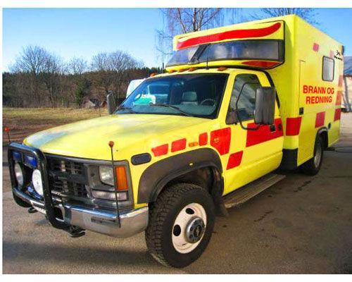 komandno gasilsko vozilo CHEVROLET WD