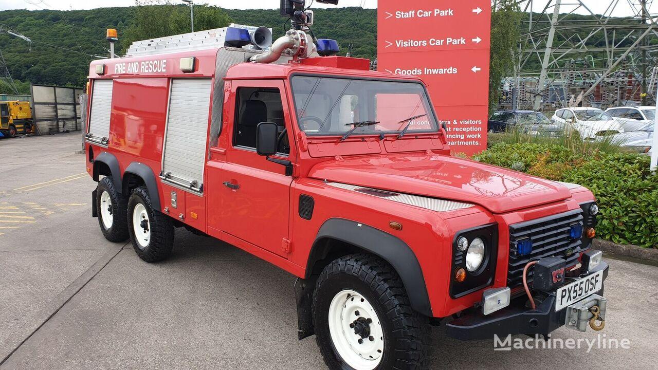letališko gasilsko vozilo Land Rover 6x6
