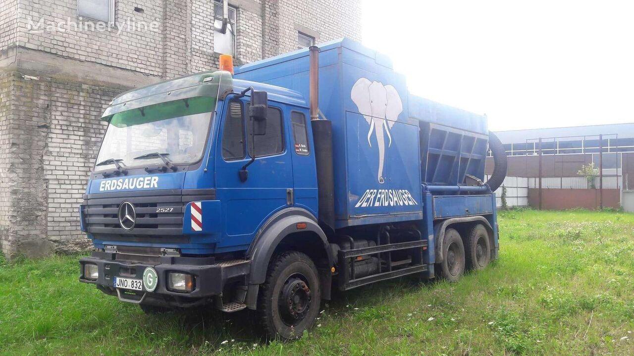vozilo za čiščenje kanalizacije MERCEDES-BENZ 2527 Vacuum excavator