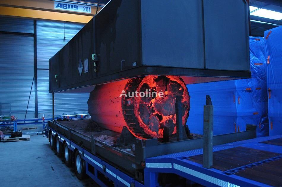 20-čeveljski kontejner CCH HOT STEEL TRANSPORT 20 FT