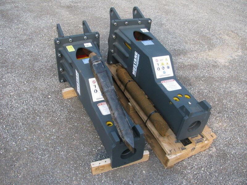 nov hidravlično kladivo MUSTANG SB500 teža 490kg