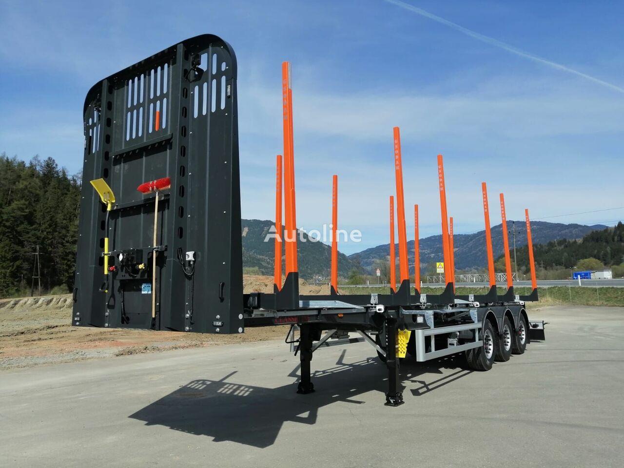 nova polprikolica za prevoz lesa GSODAM CLASSIC LINE