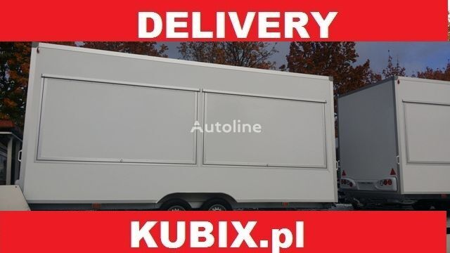 nova prikolica potujoča trgovina NIEWIADOW H20521 520x203x230, Catering trailer, Verkaufsanhänger 2000kg