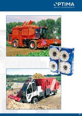 nova hidravlična črpalka OPTIMA Twin Disc type Pump Drives za kombajn za žito