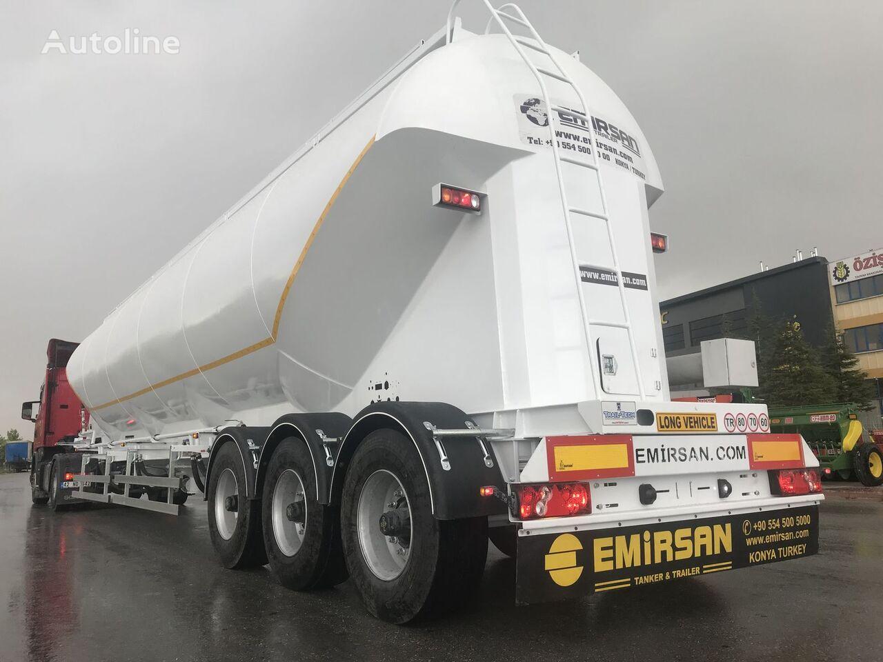 nova silo cisterna EMIRSAN W Type Bulker | Millennium Type | EURO Type 2021