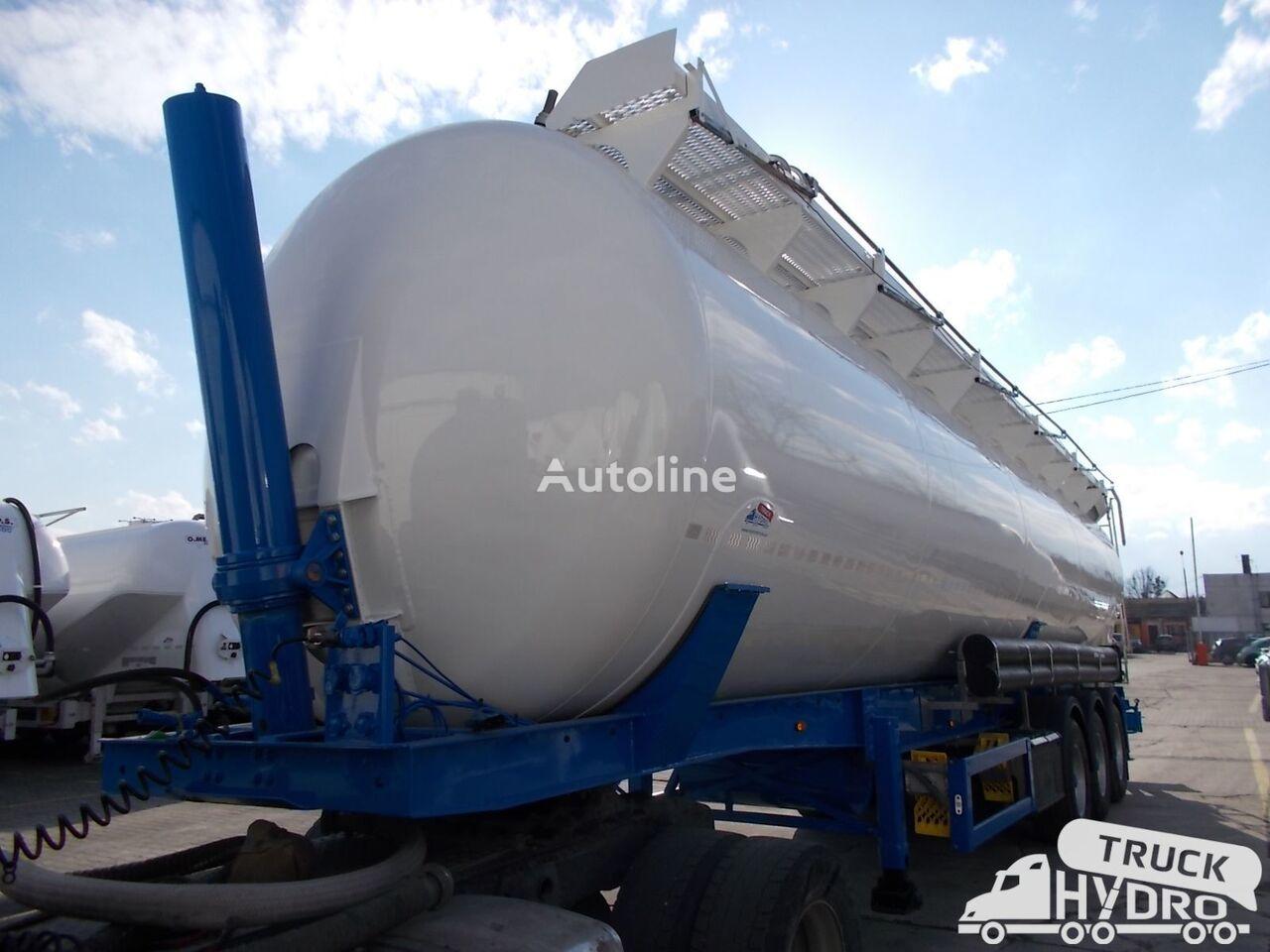 silo cisterna FELDBINDER KIP 60.3 -  Własna hydraulika HS24V - Czysta w środku !!
