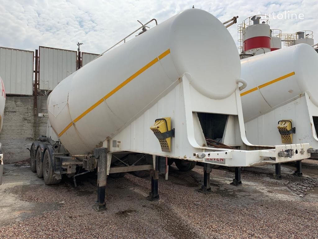 silo cisterna GUVEN SILOBAS CEMENT TRAILER