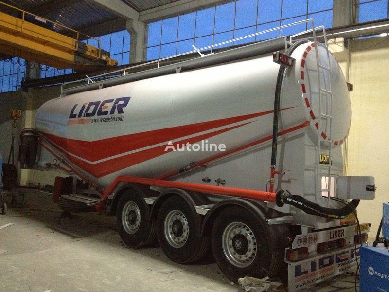 nova silo cisterna LIDER 2019 MODEL NEW(MANUFACTURER COMPANY LIDER TRAILER & TANKER )