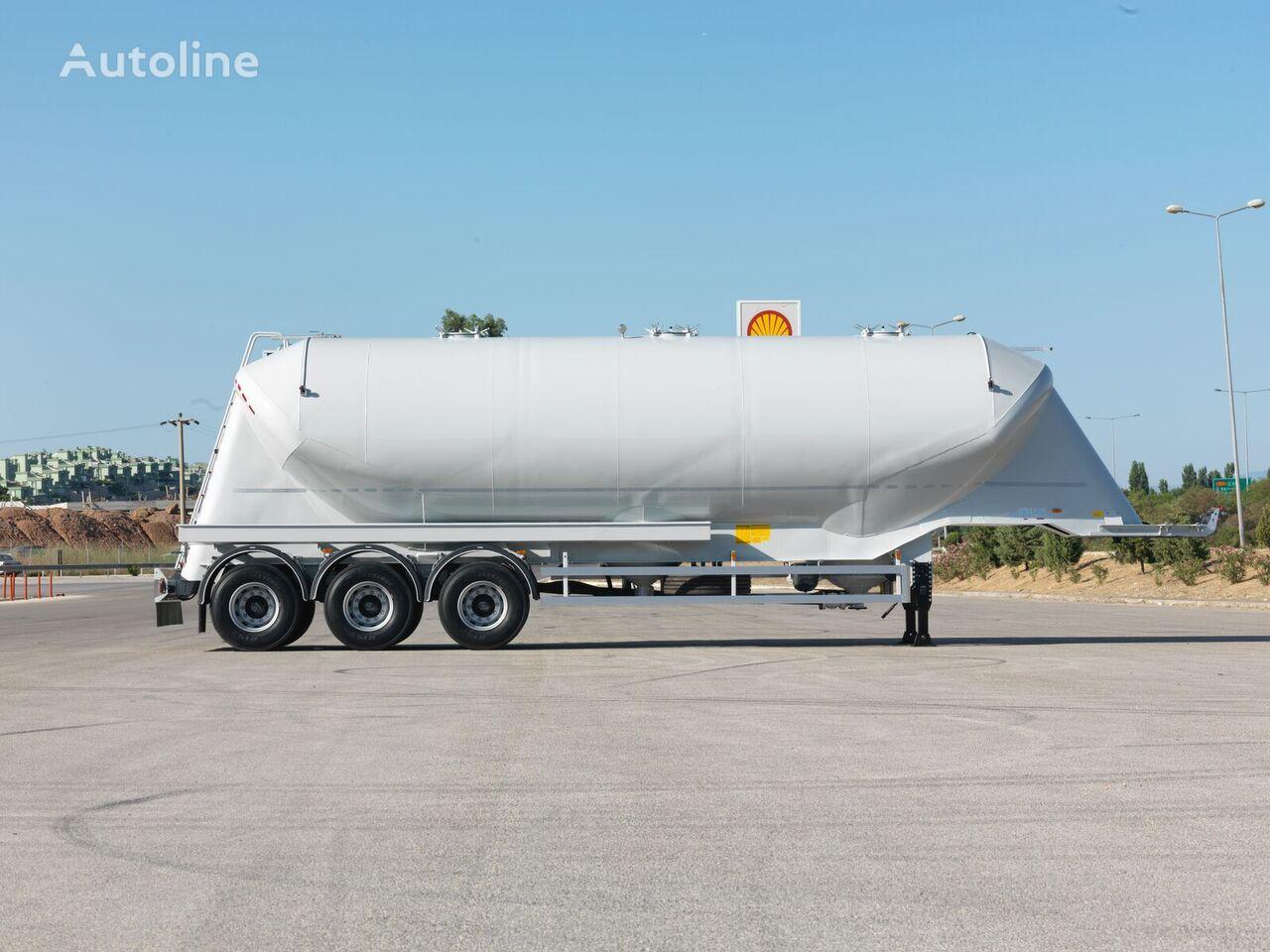 nova silo cisterna OKT TRAILER 45 m3 W TYPE NONTIPPING SILO SEMI TRAILER
