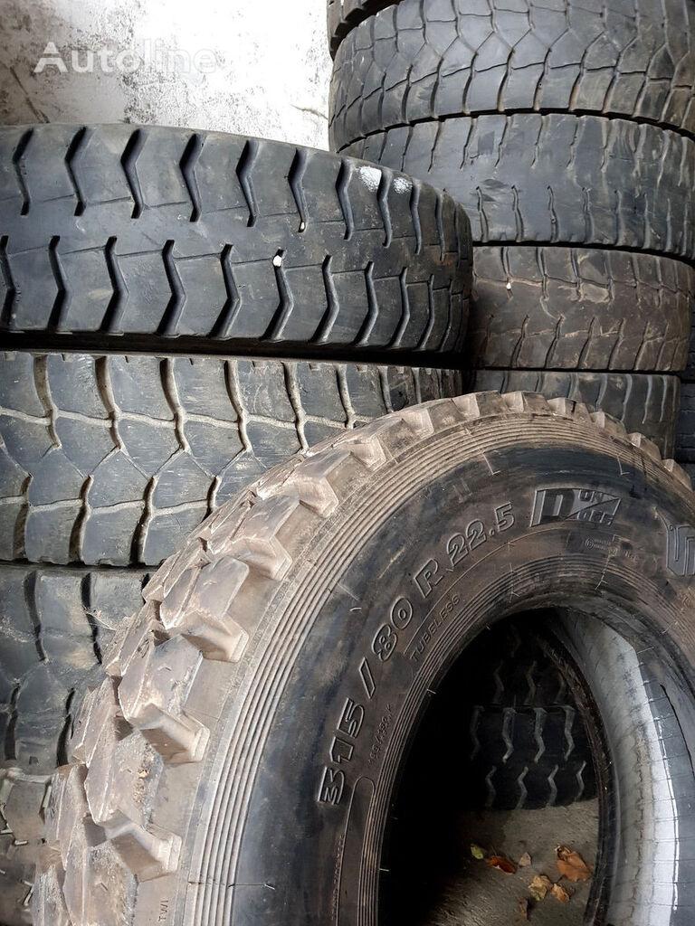 tovorna pnevmatika 315/80 R 22,5 oder 315/70 R 22,5 Gebrauchtreifen vom Reifengroßh