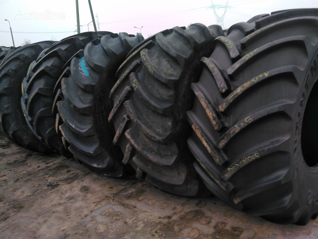 tovorna pnevmatika Goodyear Used Agricultural tires of all sizes