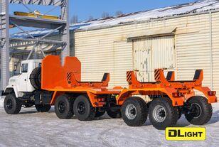 nov gradbena mehanizacija za prevoz cevi KRAZ 6322-05