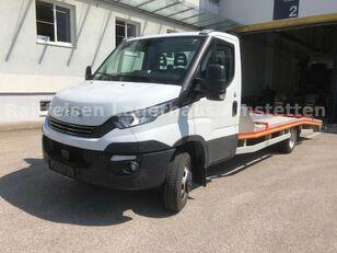 tovornjak avtotransporter IVECO Daily 50 C 18 Járműszállító Csörlővel és Rámpával