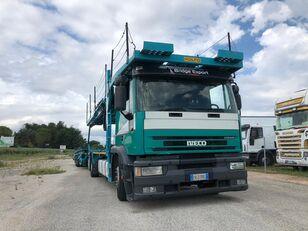 tovornjak avtotransporter IVECO EUROTECH bisarca veicoli + biga Rolfo