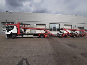tovornjak avtotransporter IVECO Stralis + prikolica avtotransporter
