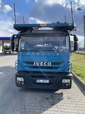 tovornjak avtotransporter IVECO Stralis 450 + prikolica avtotransporter