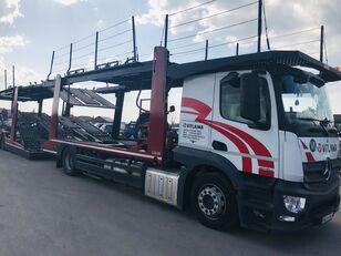 tovornjak avtotransporter MERCEDES-BENZ Actros 1840 Euro 6 + Lohr CHR + prikolica avtotransporter