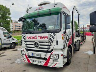 tovornjak avtotransporter MERCEDES-BENZ Actros + Lohr + návěs na přepravu automobilů