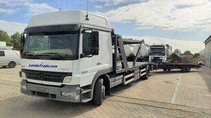 tovornjak avtotransporter MERCEDES-BENZ Atego 1323 / 7 Cars / Winch / Airco + prikolica avtotransporter