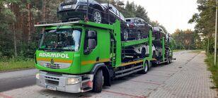 tovornjak avtotransporter RENAULT Premium 410 + prikolica avtotransporter