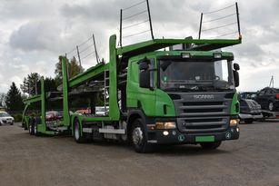 tovornjak avtotransporter SCANIA P 380 + prikolica avtotransporter